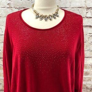 Calvin Klein Red Sweater